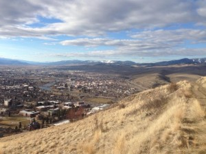 The view of Missoula from the M Trail is spectacular.  Located right outside the UM conference center.