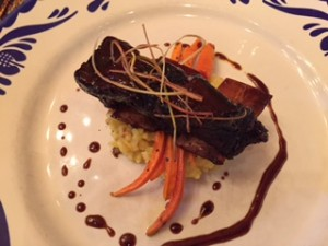(Delicious and locally sourced cuisine from Blue Canyon)