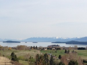 South end of Flathead Lake
