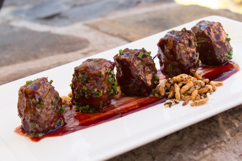 The elk meatballs are a must at The Boat Club Lounge and Restaurant located at The Lodge at Whitefish Lake in Whitefish.
