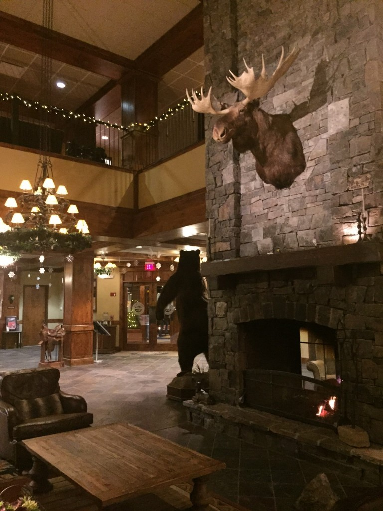 The Lodge at Whitefish Lake.