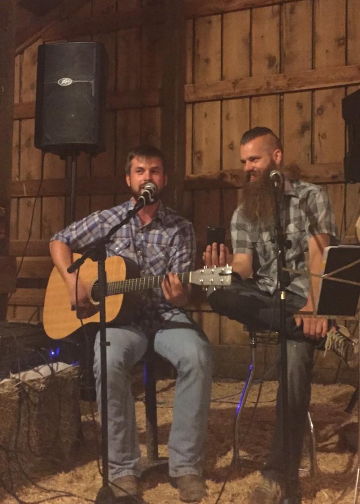 Live music, Montana style.