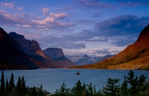Glacier National Park's St. Mary Lake and Wild Goose Island. Photo courtesy Donnie Sexton.