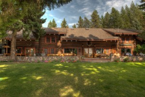 Historic Flathead Lake Lodge. Photos courtesy of Flathead Lake Lodge