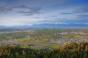 The view of Kalispell from Lone Pine State Park: Photo: Chuck Haney