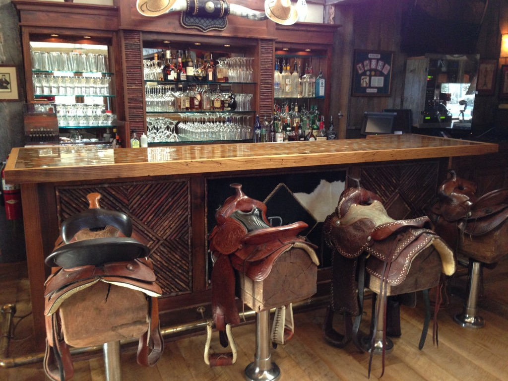 Saddle up at the Silver Dollar Saloon.
