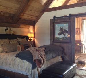 Refurbished barn with luxury accommodations.