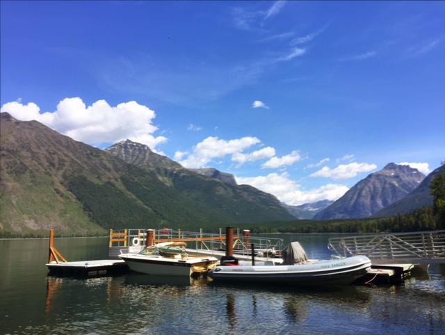 Lake McDonald in early June.