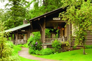 The cottages at The Belton Chalet are open year-round.