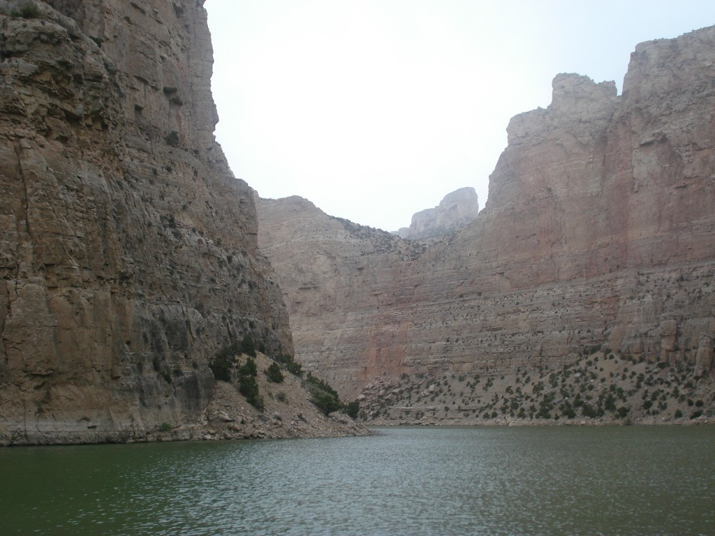 Touring Bighorn Canyon with Hidden Treasure Charters.