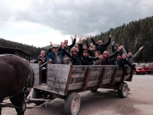 Wagon loads of fun at Bar W Guest Ranch.