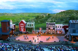 Medora Musical with Theodore Roosevelt National Park as its backdrop.