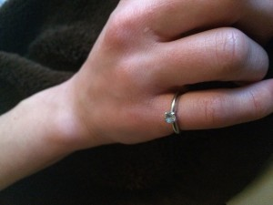 My best memory of Philipsburg: this pinky ring (that I mined myself) and gifted to my wife for her first Mother's Day. It's one of our most cherished family heirlooms.