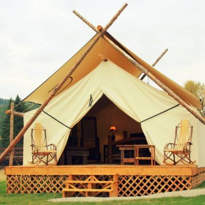Glamping at Bar W Guest Ranch. Photo: Bar W Guest Ranch.