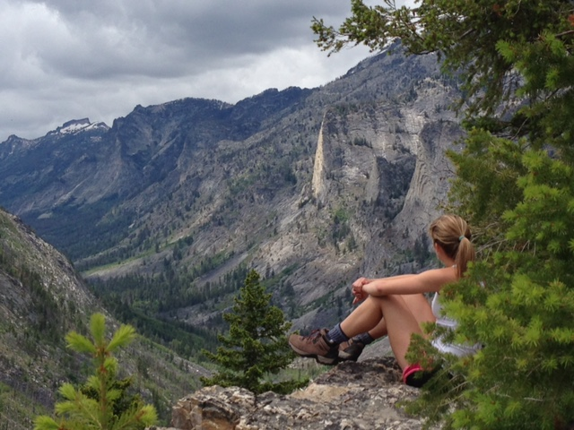Impressive views from Blodgett Canyon Overlook.