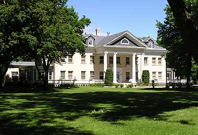 Once the summer home of Marcus Daly, now the Daly Mansion Museum.