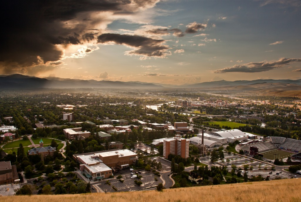The cultural hub of Montana, Missoula is home to the University of Montana.