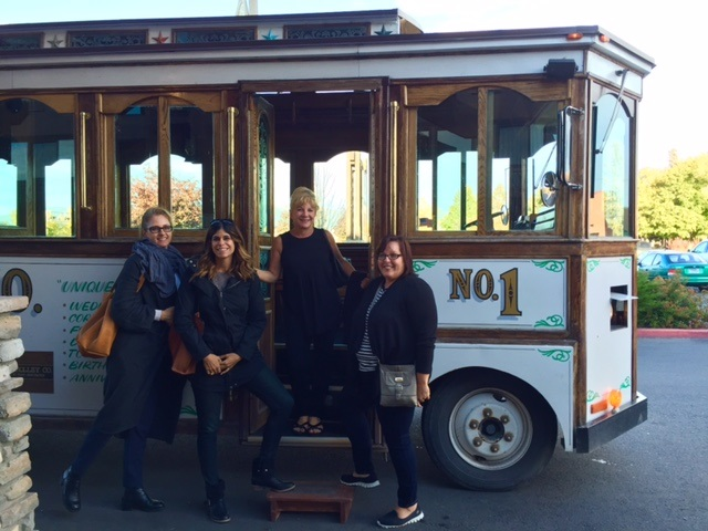 Montana Trolley ride to dinner.
