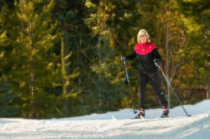 XCountry Skiing in Glacier Country