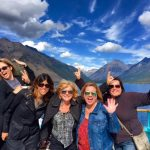 Having some fun on the DeSmet on Lake McDonald in Glacier National Park.