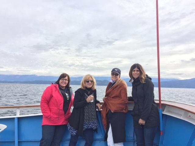 Cruising with Far West on Flathead Lake.