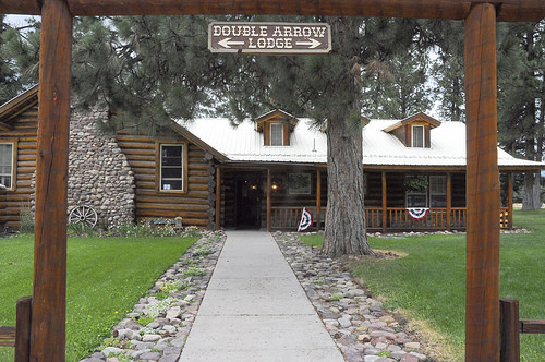 Welcome to Double Arrow Lodge.