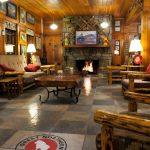 Historic Izaak Walton Inn near Glacier National Park.