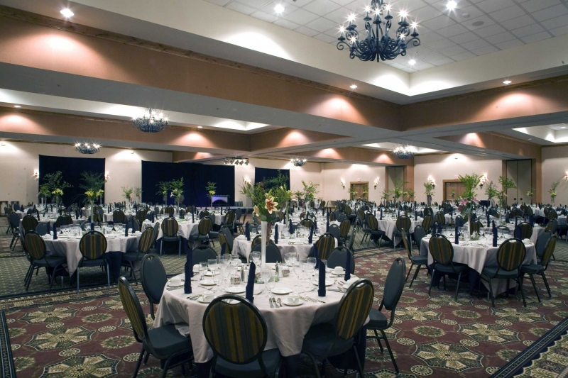 Beautiful ballroom space in Kalispell.