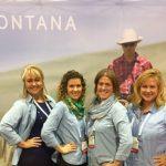 Western Montana ladies at IMEX America.