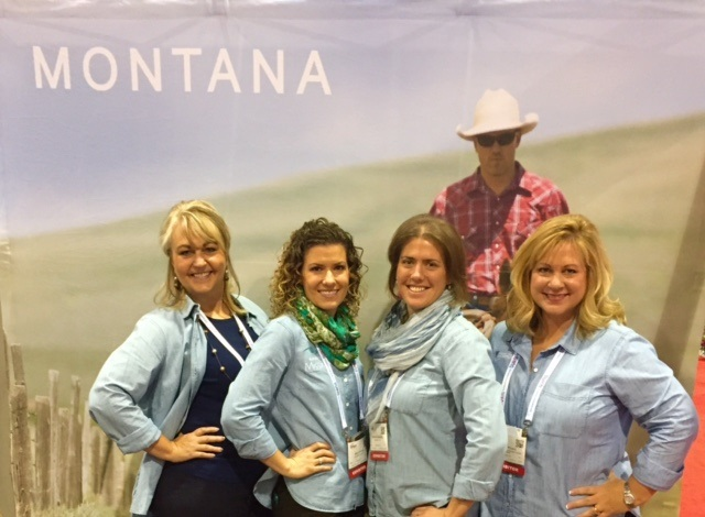 Western Montana ladies at IMEX America.