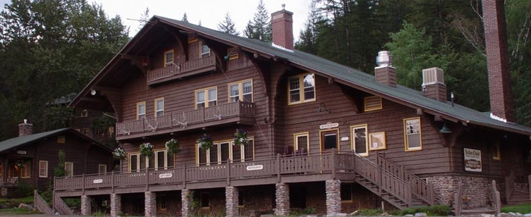 Belton Chalet in West Glacier. Photo: Belton Chalet