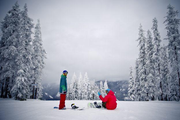 Western Montana's Glacier Country Downhill Ski Areas